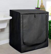 Capa para máquina de lavar prática com zíper frontal tamanho g resistente à água - util - Útil