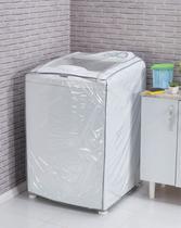 Capa para Máquina de Lavar Roupa Transparente P Transparente - Ntb Embalagens