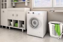 Capa Para Máquina De Lavar Roupas Com Abertura Frontal 10,5Kg a 13Kg Adomes -