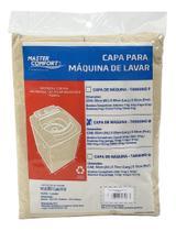 Capa para maquina de lavar Tamanho G Bege - Master Comfort