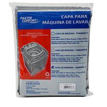 Capa para Máquina de Lavar Tamanho G Cinza - Master Comfort