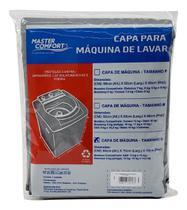 Capa para maquina de lavar Tamanho G Cinza - Mastercomfort