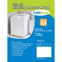 Capa Para Maquina de Lavar tamanho M - Sofisticada Moda Casa