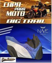 Capa para moto  Big Trail cor azul - Nave