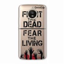 Capa para Moto E4 Plus Walking Dead - Fight The Dead - Quero case