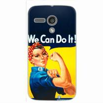 Capa para Moto G We Can Do It! 02 - Quero case