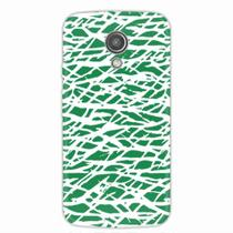 Capa para Moto G2 Green Abstract - Quero case