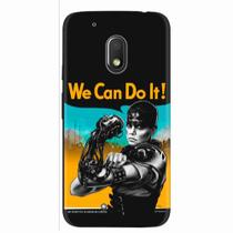 Capa para Moto G4 Play We Can Do It! 01 - Quero case