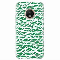 Capa para Moto G5 Plus Green Abstract - Quero case