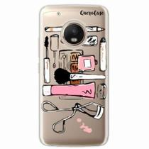 Capa para Moto G5 Plus Make Up - Quero case
