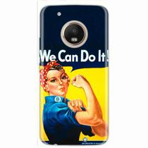 Capa para Moto G5 Plus We Can Do It! 02 - Quero case