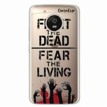 Capa para Moto G5 Walking Dead - Fight The Dead - Quero case