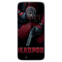 Capa para Moto G6 Play - Deadpool 4 - Mycase