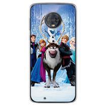 Capa para Moto G6 Play - Frozen - Mycase