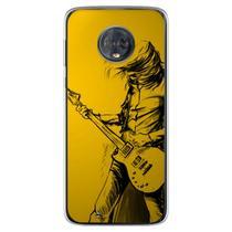 Capa para Moto G6 Play - Música  Guitarra 4 - Mycase