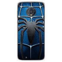 Capa para Moto G6 Play - Spider Man Azul - Mycase