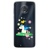 Capa para Moto G6 Play - Unicórnio 4 - Mycase