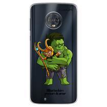 Capa para Moto G6 Play - Vilões Precisam de Amor  Loki - Mycase