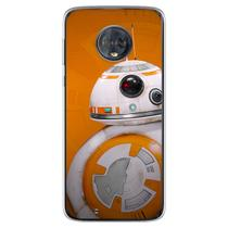 Capa para Moto G6 Plus - Star Wars  BB8 2 - Mycase