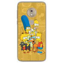 Capa para Moto G7 Play - História em Quadrinhos  Simpsons - Mycase