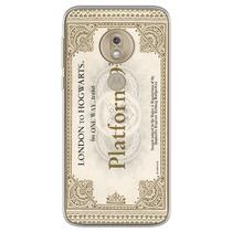 Capa para Moto G7 Plus - Harry Potter  Ticket Plataforma 9 e 34 - Mycase