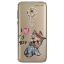 Capa para Moto G7 Power - I love my York