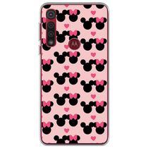 Capa para Moto G8 Plus - Minnie e Mickey  Love - Mycase