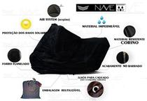 Capa para moto impermeável e forrada XXG - Nave