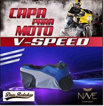 Capa para moto speed cor azul - Nave