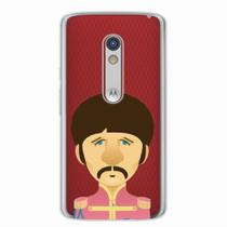 Capa para Moto X Play The Beatles Ringo Starr - Quero case
