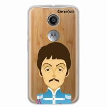 Capa para Moto X2 The Beatles Paul McCartney - Quero case