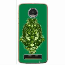 Capa para Moto Z Force Grass Pokemon - Quero case