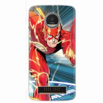 Capa para Moto Z Play The Flash 03 - Quero case