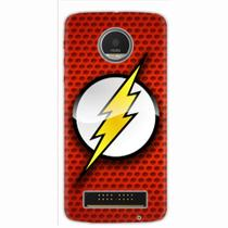 Capa para Moto Z Play The Flash 04 - Quero case
