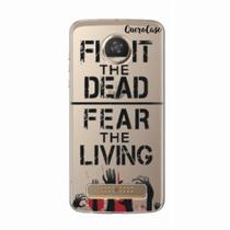Capa para Moto Z2 Play Walking Dead - Fight The Dead - Quero case