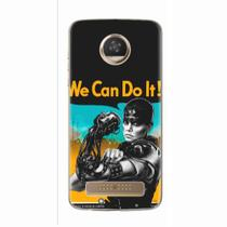 Capa para Moto Z2 Play We Can Do It! 01 - Quero case