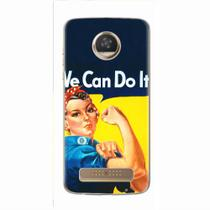 Capa para Moto Z2 Play We Can Do It! 02 - Quero case