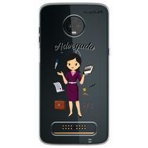 Capa para Moto Z3 Play - Advogada - Mycase