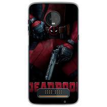 Capa para Moto Z3 Play - Deadpool 4 - Mycase