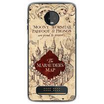Capa para Moto Z3 Play - Harry Potter  Mapa do Maroto 1 - Mycase