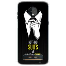 Capa para Moto Z3 Play - How I Met Your Mother  Nothing Suits Me Like a Suit - Mycase