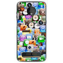 Capa para Moto Z3 Play - Ícones - Mycase