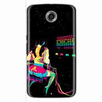 Capa para Nexus 6 Atari Space Invaders - Quero case