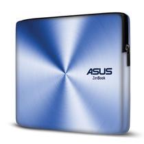 Capa para Notebook em Neoprene - CN - Asus ZenBook Efeito Metálico Azul - Case Notebook