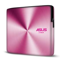 Capa para Notebook em Neoprene - CN - Asus ZenBook Efeito Metálico Rosa - Case Notebook