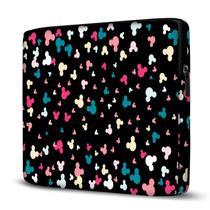 Capa para Notebook em Neoprene - CN - Minnie Mickey Coloridos - Case Notebook