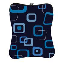 Capa para Notebook Fit Azul com Estampas Newlink -