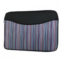 Capa para Notebook Stillo Class com Bolso 14 1D Listrada Lilás -