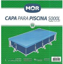 Capa para Piscina 5000 Litros Premium Retangular - Mor -