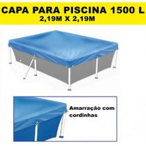Capa para Piscina Retangular 1500 Litros 2,19 M X 2,19 M  Mor -